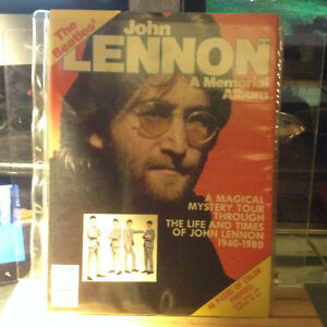THE BEATLES JOHN LENNON-A MEMORIAL ALBUM-1981