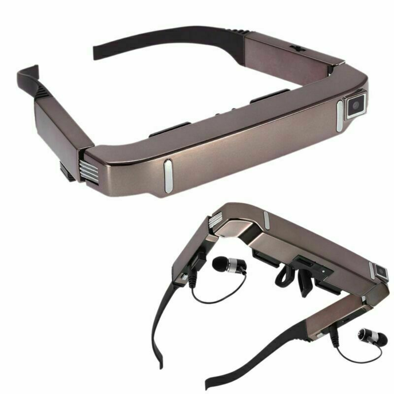 """80"""" Smart 3D VR Video Glasses Android 4.4 Bluetooth Virtual 5MP Camera Part"""