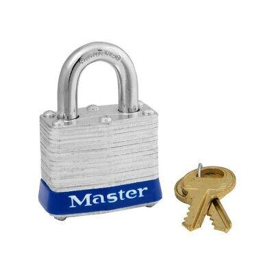 Master Lock 3DCOM1-9/16in (40mm) Wide Laminated Steel Pin Tumbler Padlock Lock Tumbler Padlock