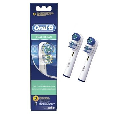 Oral B Recambio Braun Cepillo Eléctrico Dual Clean 2 unidades Oral-B Cabezal
