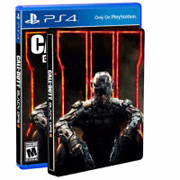 BRAND NEW Black ops 3 steelbook edition