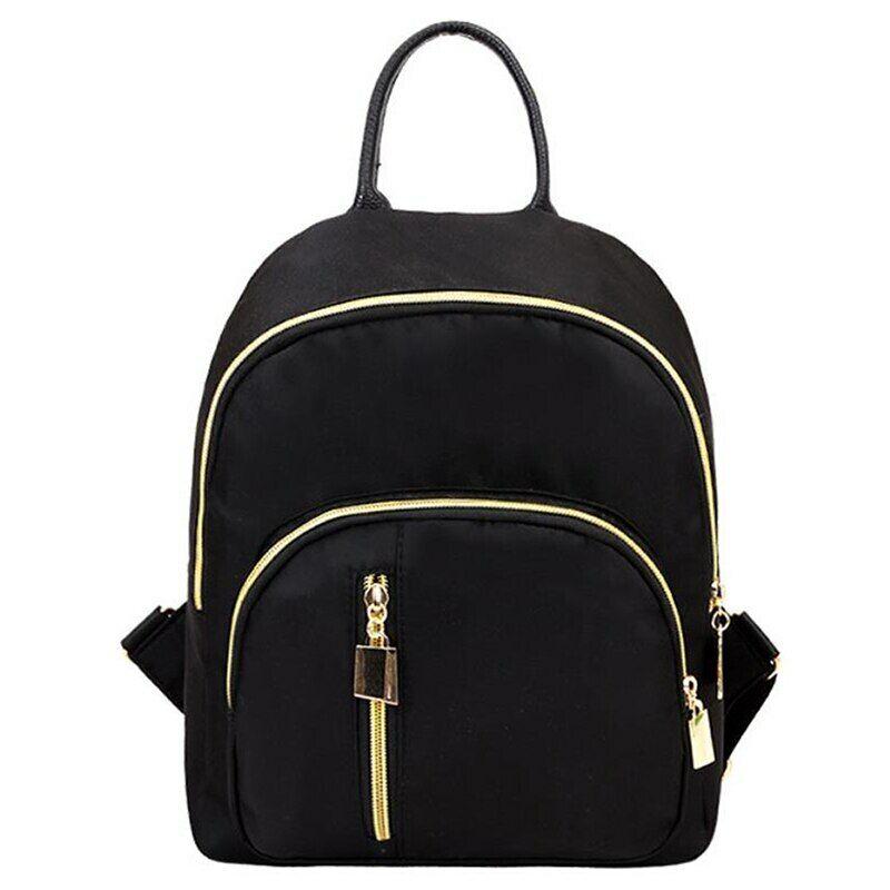 Women Fashion Small Mini Backpack New Travel Nylon Handbag S