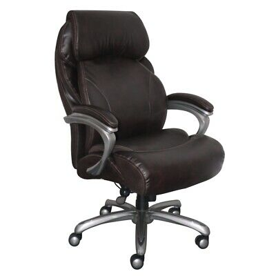Serta Big And Tall Executive Office Chair With Smart Layers Brown