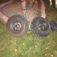 **Price Reduced** ATV/Quad Rims and Tires Honda Kawasaki Etc.