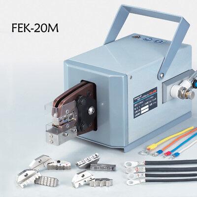 Fek-20m 2.0t Pneumatic Crimper Air Powered Wire Terminal Crimping Machine Tool