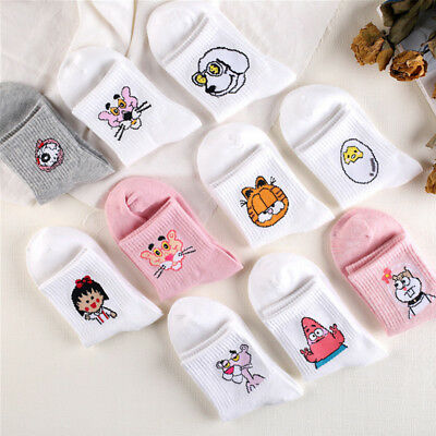 Cute Sweet Cotton Tube Socks Cartoon Animals Hot Lovely Socks Short Socks Girls - Short Girls Tube