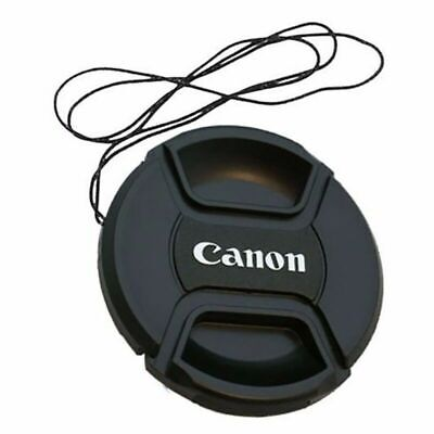 58 mm Snap On Front Lens Cap Cover Center Pinch Canon EOS Camera