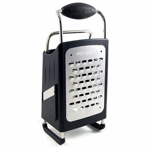 new Microplane  4-Sided Box Grater