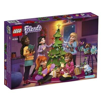 LEGO FRIENDS 24 DAY ADVENT CALENDAR HOLIDAY BOX 41353 *DISTRESSED PKG