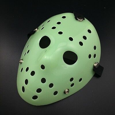 – Original Jason Voorhees Hockey-Maske Glow Up In The Dark (Jason Voorhees Original Maske)