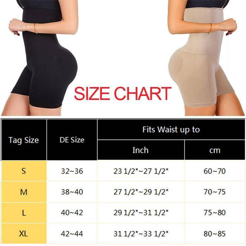 Hohe Taille Abnehmen Shapewear Mieder Panty Figur Unterwäsche Shaper formend Po