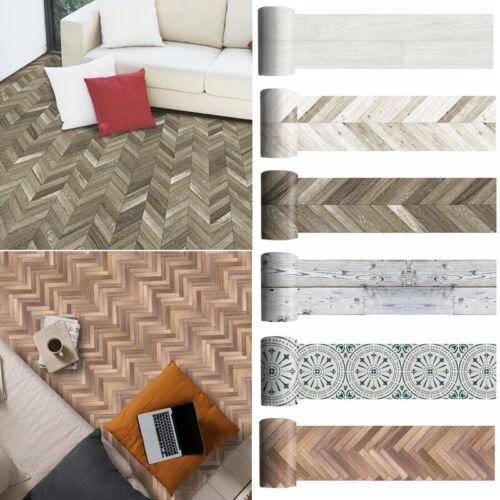 Home Decoration - Non-slip Floor Stickers Self-adhesive PVC Backsplash Tile Decal Stick Waterproof