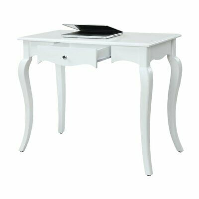 "Convenience Concepts French Provence 36"" Article Desk in White"