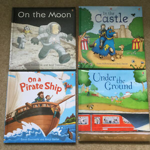 Usborne Hard Covered Children's Books
