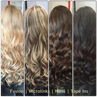 LINA'S LOCKS HAIR EXTENSIONS Fusion | Micro | Tape Ins | Nano