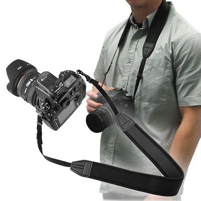 Skidproof Elastic Neoprene Neck Strap for Nikon Camera New