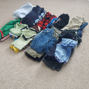 Baby Boy 12 months Clothing Lot - ~50 items
