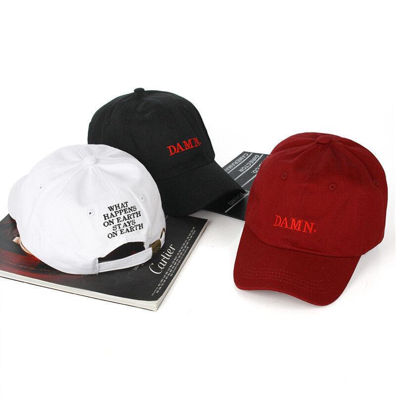 fe5cb28d49c Damn Embroidery Baseball Cap Women Men Bone Rapper Cap Dad Hat Sports Sun  Cap