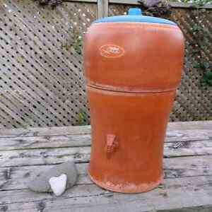 Stefani Water Purification Terracotta Crock from Brazil Kitchener / Waterloo Kitchener Area image 1