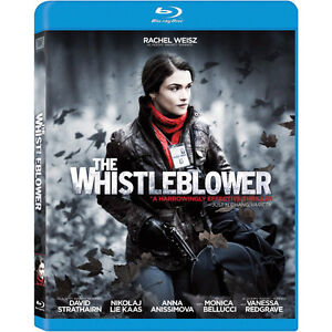 The Whistleblower Blu-Ray + bonus dvd