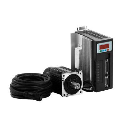 1kw Ac Servo Drive Motor Kit Nema34 4nm 1000w 220v 2500rmin W3m Cables