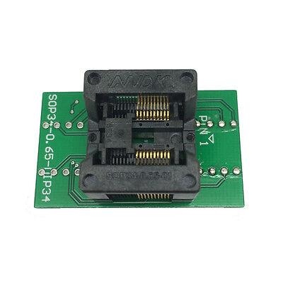Tssop20 Ssop20 To Dip20 Test Socket Adapter Pitch 0.65mm Ic Body Width 5.3-5.7mm
