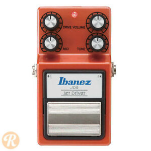 Ibanez Jet Driver Overdrive / Distortion pedal - as new