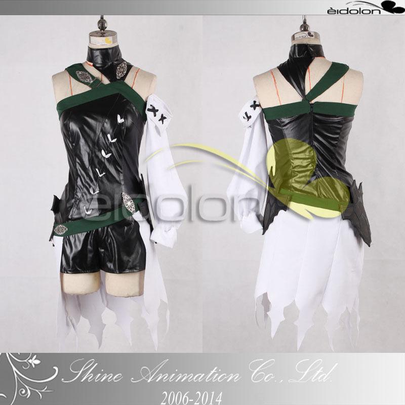 EE0025BR Final Fantasy XIV Forester/Elf Cosplay Costume