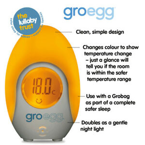 Gro-Egg Room Thermometer for Baby Room