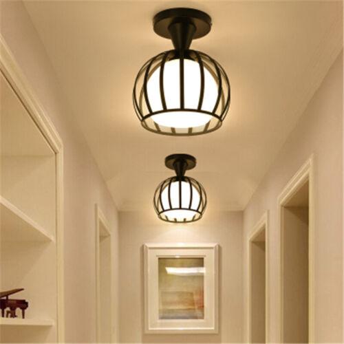 Modern Semi Flush Mount Ceiling Lamp Hallway Entryway Lighti