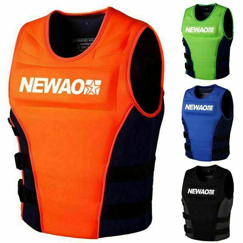 Adult life jacket neoprene safety life jacket fishing suit surf life jacket