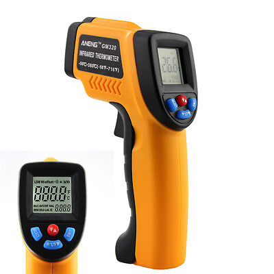 Non-contact Infrared Ir Laser Digital Lcd Thermometer Temperature Gun -50 380