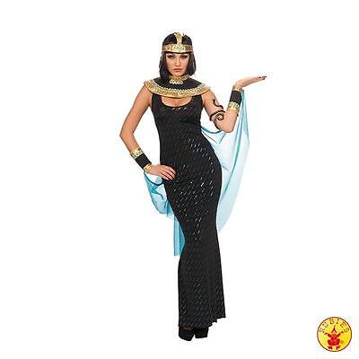 IAL Damen Karneval Halloween Kostüm Cleopatra mit Kopfschmuck