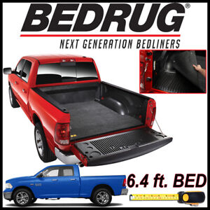 BedRug Classic Bed Mat Liner for 2002-2018 Dodge Ram FITS TRUCKS W/ 6.4 ft. BED