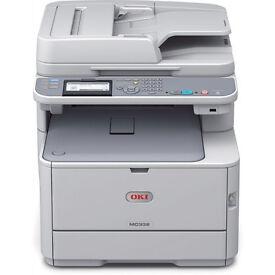 OKI MC332DN-2AC - A4 Colour Multifunction Duplex Network Printer 256MB BOXED
