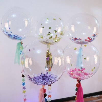 1 Balloon (1Pc New Balloons Graduation Decor Party Wedding Clear Transparent PVC )