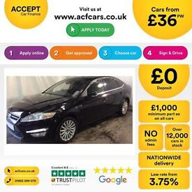 Ford Mondeo 2.0TDCi ( 140ps ) 2011MY Zetec Business FROM £36 PER WEEK!