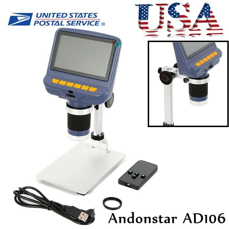 Andonstar AD106 Digital Microscope for Circuit Board Repair Soldering Tool USA