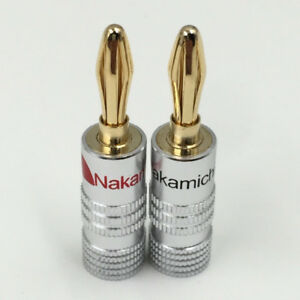 Nakamichi Banana Plugs (Pair)