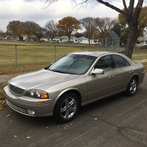 2002 Lincoln LS Loaded v8 Sedan