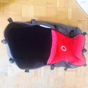 Bugaboo Cameleon bassinet in great condition (red&grey)