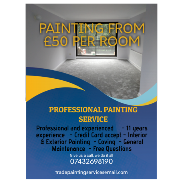 Low Cost Professional Painter And Decorator In Southampton In