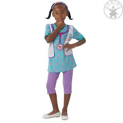 RUB 3610381 Disney Kostüm Doc McStuffins Pet Vet Arzt Ärztin Tierarzt Doktor ()