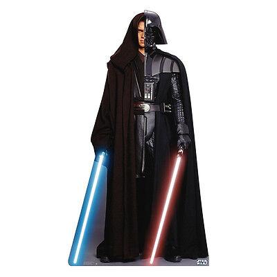 ANAKIN SYKWALKER DARTH VADER Star Wars Lifesize CARDBOARD CUTOUT Standup Standee - Darth Vader Cut Out