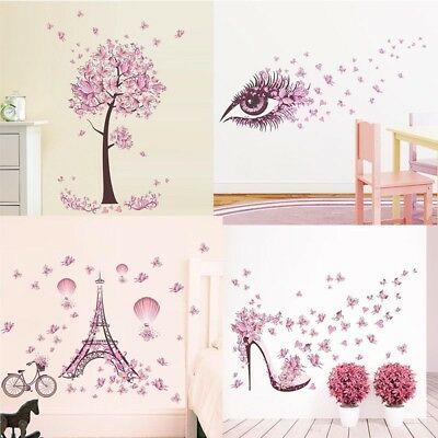 Home Decoration - Removable Butterfly Decals Vinyl Art Mural Wall Sticker Kids Girl Room Decor US