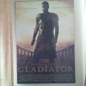 Gladiator Motion Picture Matted Billboard