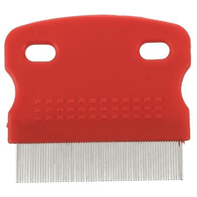 N1X2 Flea Fine Toothed Clean Comb Pet Cat Dog Hair Brush Protection Steel Small