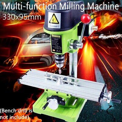 Multifunction Worktable Milling Working Table Machine Desk Drill Vise Adjust X Y