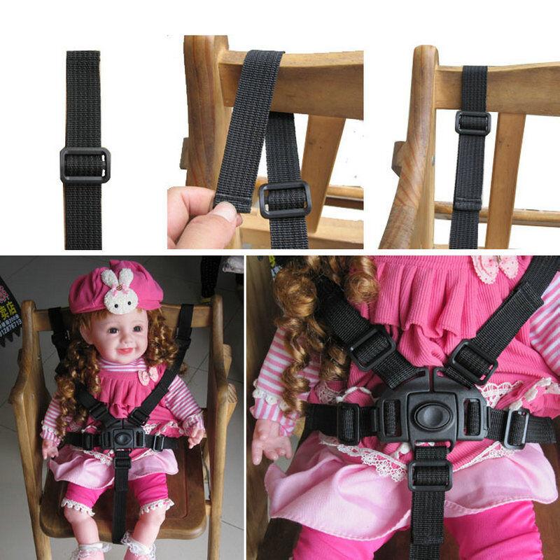 5Point Harness Universal High Chair Stroller Safe Belt Baby