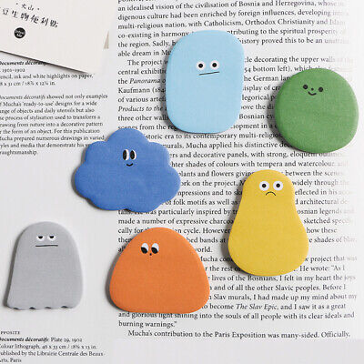 Kawaii Shape N Times Sticky Memo Note Pad Planner Sticker Office School Supplies